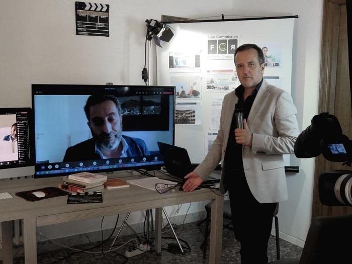 Il ruolo della Film Commission, Maurizio Gemma incontra gli studenti dell'Orientale