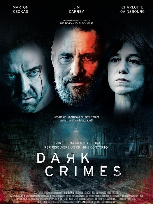 Jim Carrey e Charlotte Gainsbourg protagonisti del thriller Dark Crimes, di Alexandros Avranas, dall'8 marzo su Prime Video distribuito da 102 Distribution.