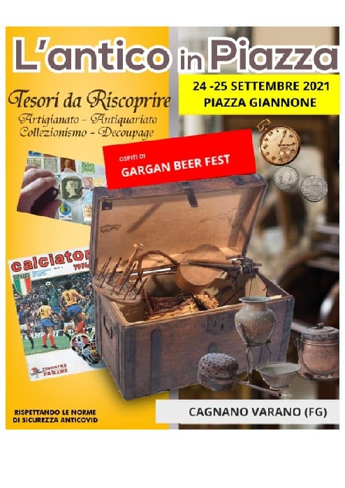 24 e 25 Settembre - Piazza Giannone - Cagnano Varano (FG) - L