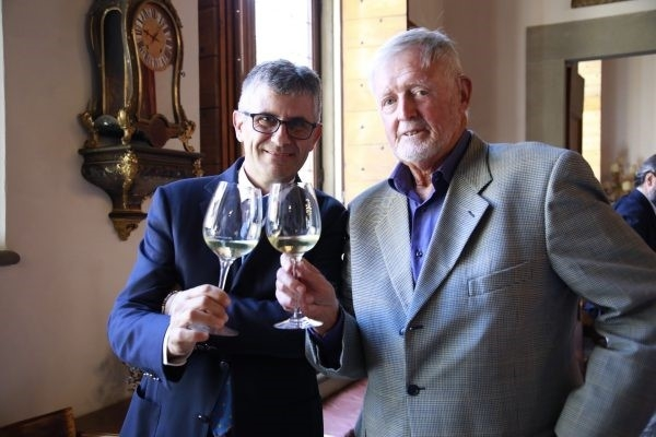 L'Istituto Grandi Marchi premia a Firenze il giornalista americano Burton Anderson