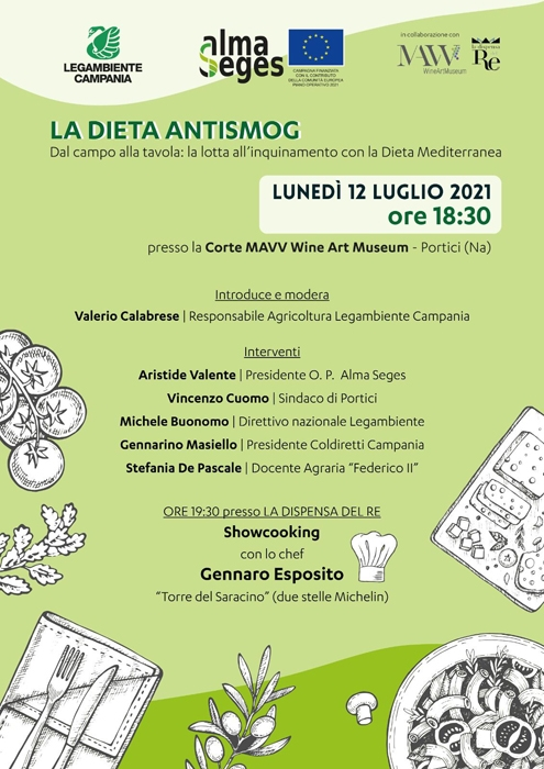 12/07 - Corte MAVV Wine Art Museum - Portici (NA) - La Dieta Antismog