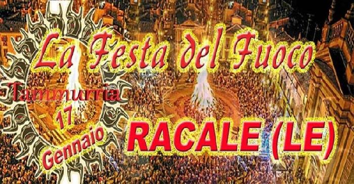 17/01 - Recale (LE) - La Festa del Fuoco di Sant