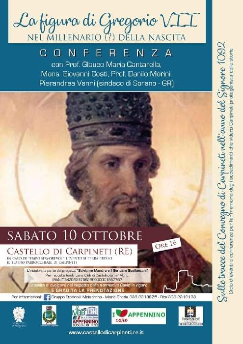 10/10 - Castello di Carpineti (RE) - La Figura di Gregorio VII nel millenario (?) della nascita