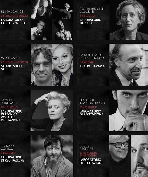 La Klimax Theatre Company apre il bando di selezione per la residenza artistica  Sharing Art 2021