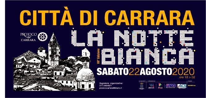 22/08 - Città di Carrara - La Notte Bianca