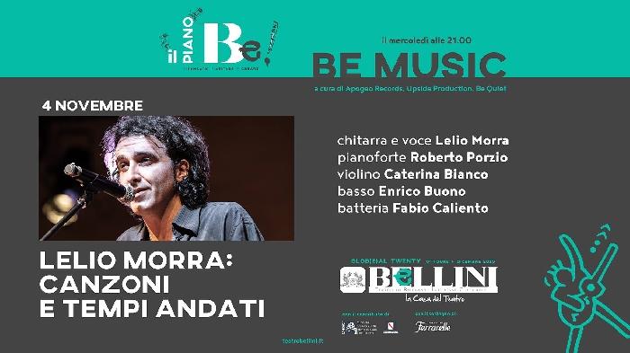 04/11 - Teatro Bellini - Napoli - Lelio Morra: Canzoni e tempi andati