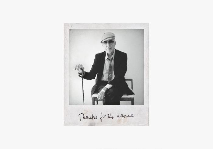 Leonard Cohen - Polaroid - Black n White