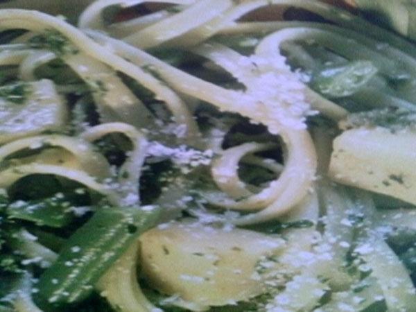 Ricetta inserita su spaghettitaliani.com da Mario Savona: Linguine di pasta all