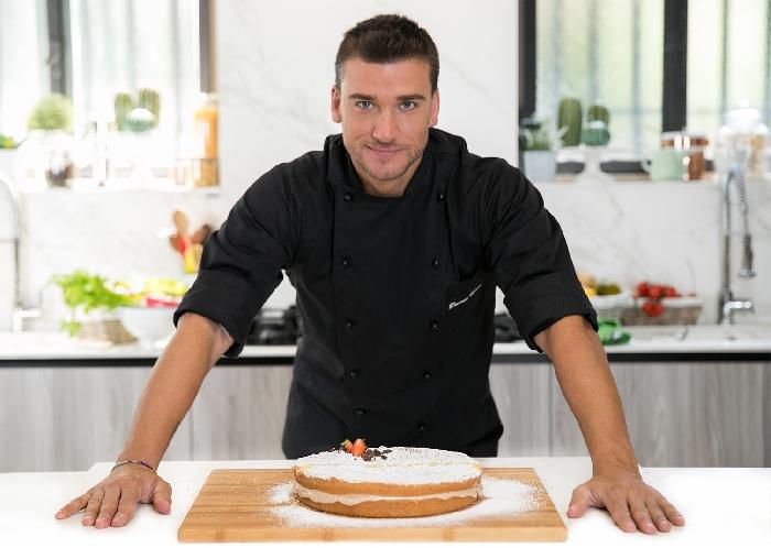 Lo chef Damiano Carrara testimonial dell