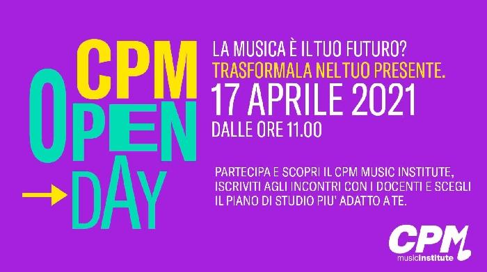 Sabato 17 aprile OPEN DAY al CPM Music Institute, la scuola di Alta Formazione Artistica Musicale di Milano fondata e diretta da FRANCO MUSSIDA. Un giorno per scoprire il mondo del CPM, conoscere l