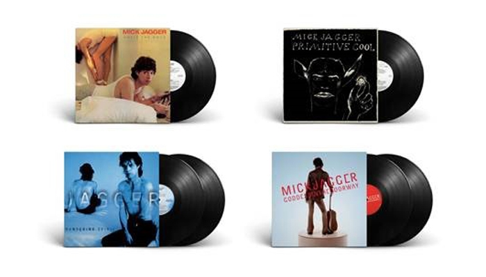 MICK JAGGER - gli album solisti in vinile