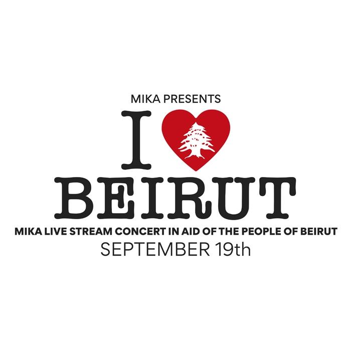 MIKA annuncia un concerto benefico per Beirut - 19 Settembre - ILoveBeirut