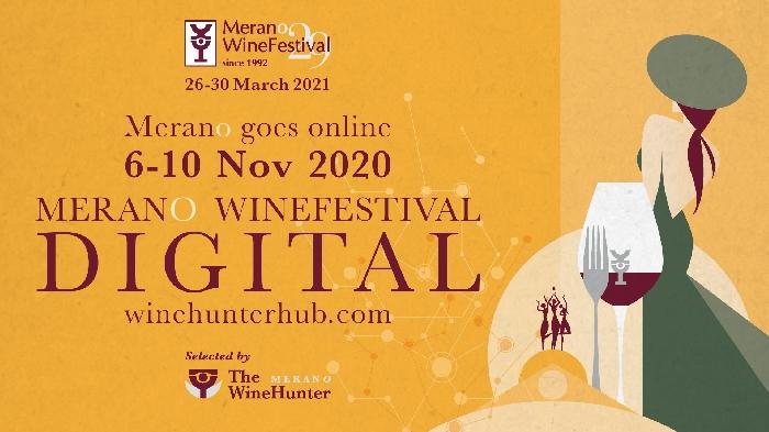Dal 6 al 10 Novembre - Merano (BZ) - Merano WineFastival DIGITAL EDITION