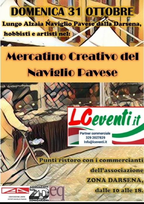 31/10 - Naviglio Pavese - Milano - Mercatino creativo