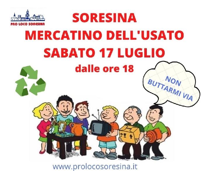 17/07 - Soresina (CR) - Mercatino dell