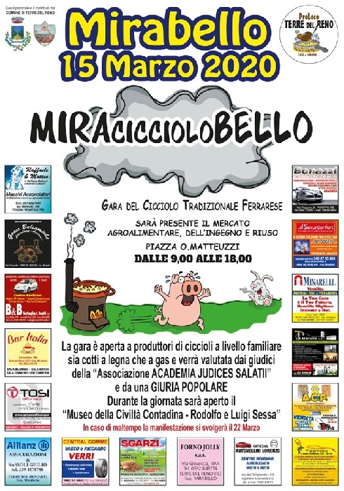 15/03 - Mirabello - Terre di Reno (FE) - MiraCiccioloBello