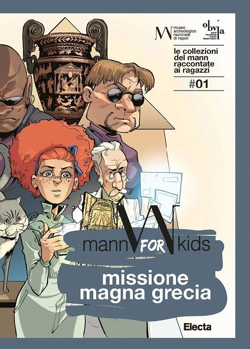 Missione Magna Grecia: la guida kids dedicata alla Collezione del MANN si presenta online