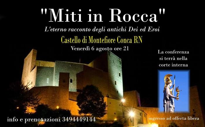 06/08 - Castello di Montefiore Conca (RN) - Miti in Rocca
