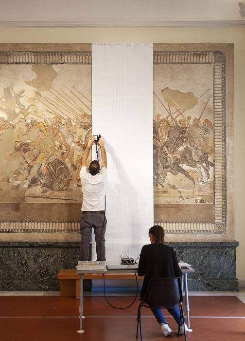 Mosaico di Alessandro, al via il progetto di restauro al MANN