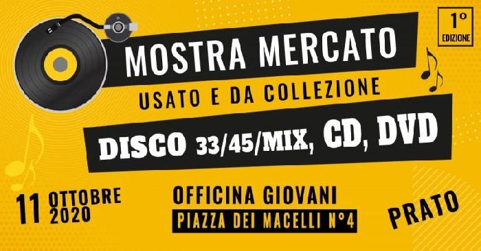 11/10 - Officina Giovani - Prato - Mostra Mercato del Disco usato e da collezione