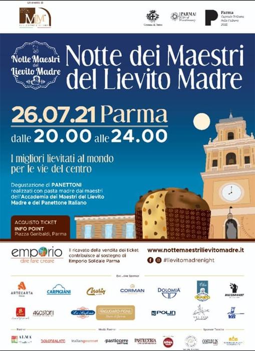 26/07 - Parma - Notte dei Maestri del Lievito Madre