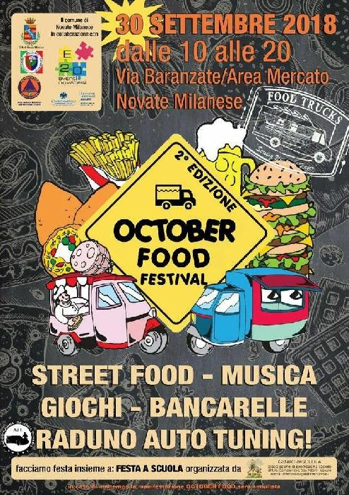 Scuola Di Musica Novate Milanese.News 30 09 Novate Milanese Mi October Food Festival
