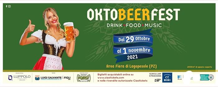 Dal 29/10 al 01/11 - Area Fiera di Lagopesole (PZ) - Avigliano (PZ) - OktoBeerFest