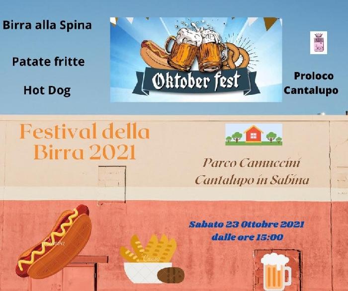 23/10 - Parco Camuccini - Cantalupo in Sabina (RI) - Oktober Fest, Festival della Birra 2021