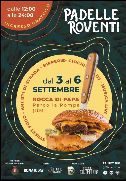 Dal 3 al 6 settembre - Parco la Pompa - Rocca di Papa (RM) - Padelle Roventi