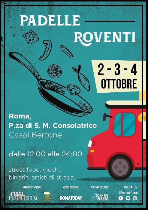 Dal 2 al 4 Ottobre - Casal Bertone- Roma - Padelle Roventi