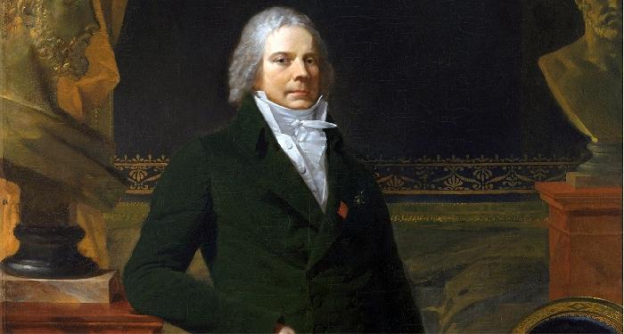 Particolare del quadro raffigurante Charles-Maurice de Talleyrand-P�rigord di Pierre-Paul Prud