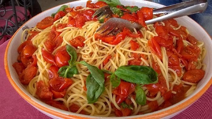 Pasta di Gragnano con il Pomodorino del Piennolo