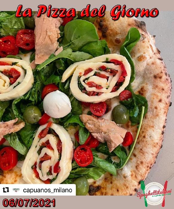 La Pizza del Giorno del 6 Luglio 2021
