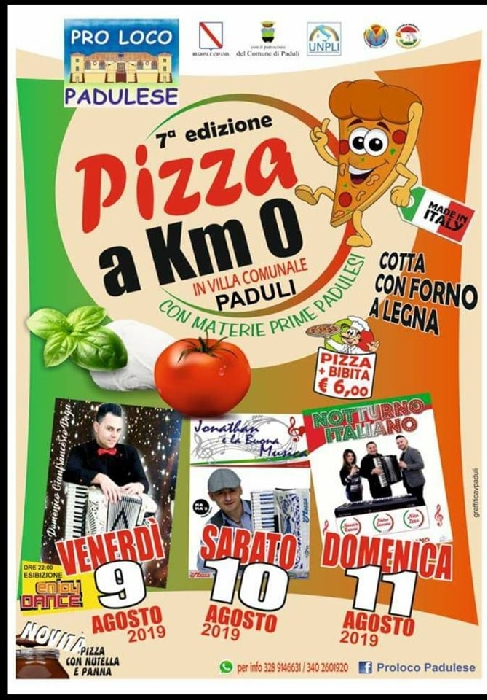 Pizza a Km 0