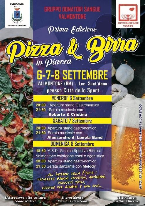 Pizza e Birra in Piazza