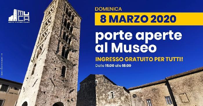 08/03 - Museo della Cattedrale di Anagni (FT) - Porte aperte al Museo