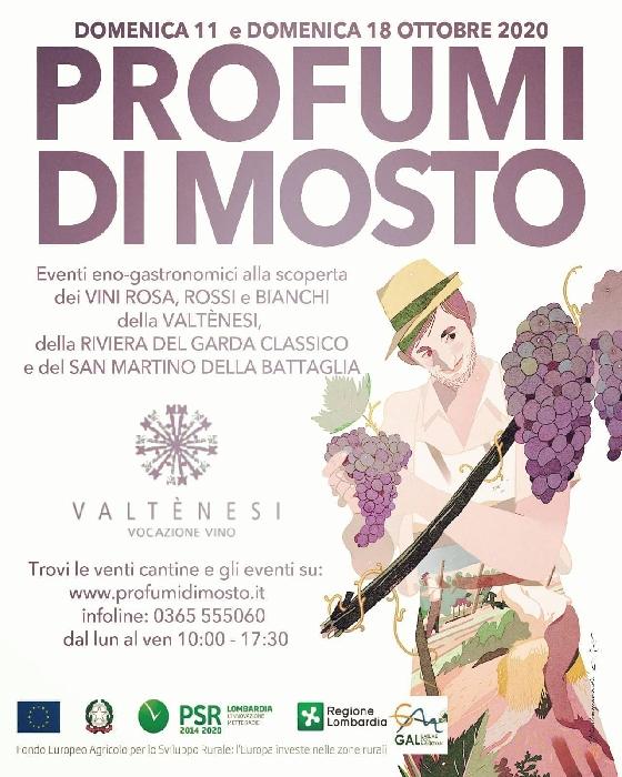 11 e 18 Ottobre - Provincia di Brescia - Profumi di Mosto
