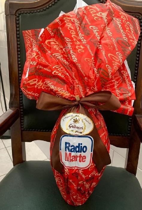Radio Marte per il Cotugno: uova di cioccolato al personale sanitario
