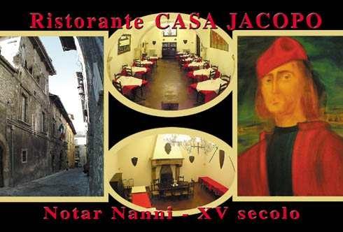 Ristorante Casa Jacopo Notar Nanni