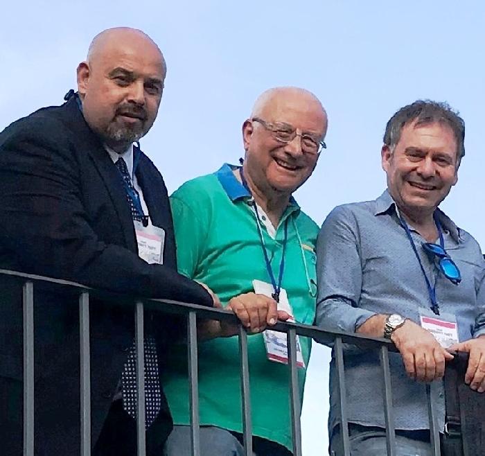Rosario Lopa. Giuseppe De Girolamo e Dario Duro