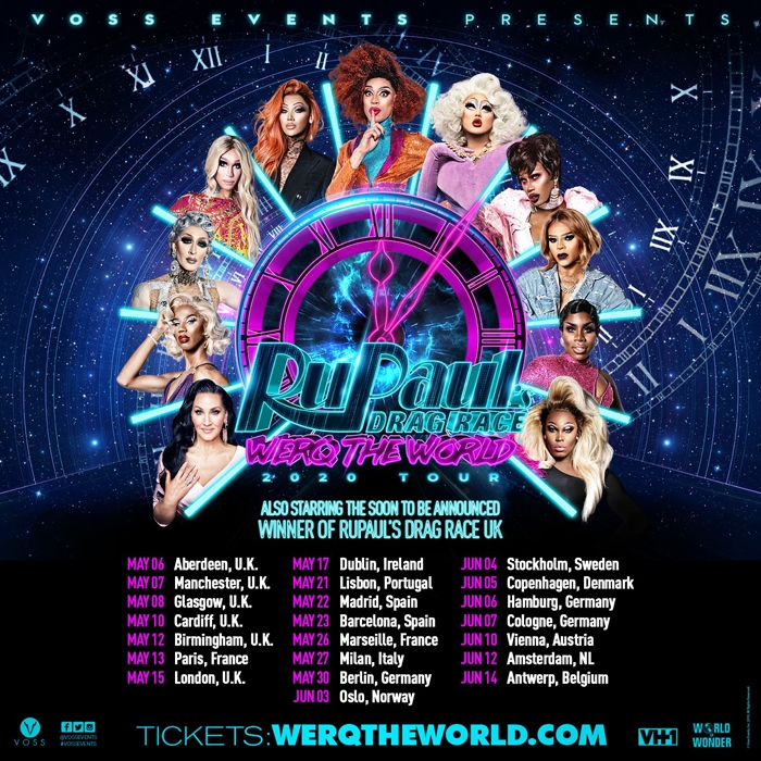 RuPaul�s Drag Race World Tour