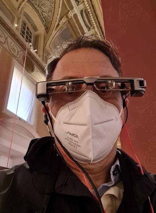 Smart Glasses per la mostra Gladiatori, nuove tecnologie per vivere l