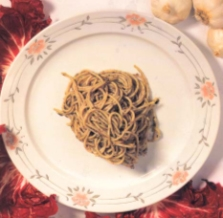Spaghetti con tartufi alla spoletina
