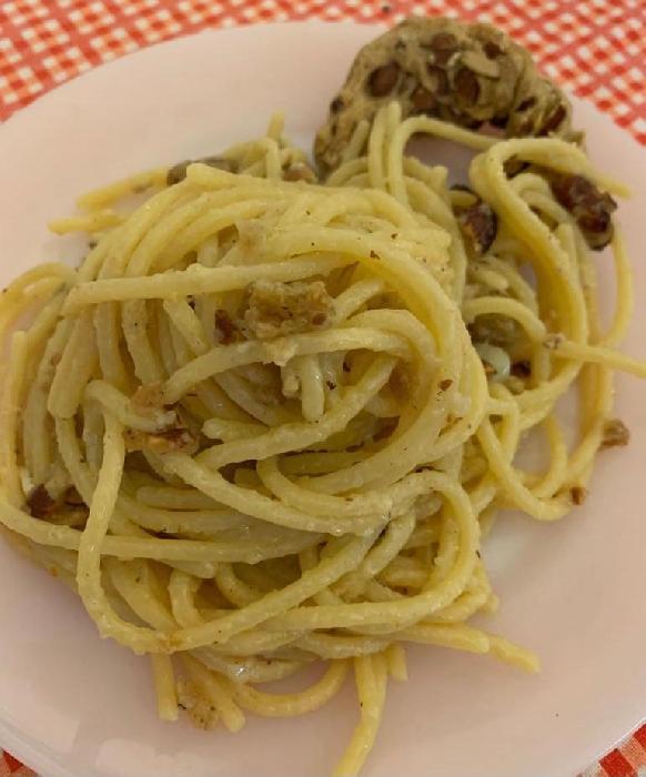 Spaghettone Felicetti al tarallo