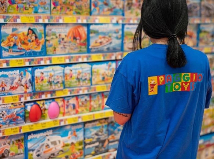 Storie di imprese a Napoli, Paggio Toys compie 40 anni, la storica azienda partenopea festeggia il compleanno