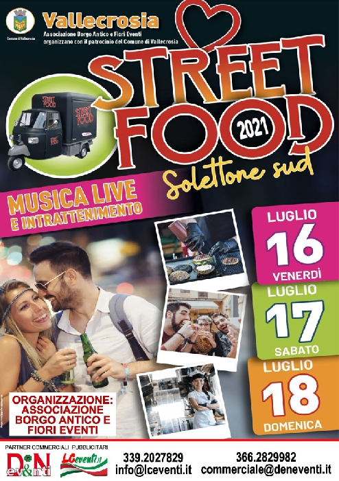 Dal 16 al 18 Luglio - Vallecrosia (IM) - Street Food 2021