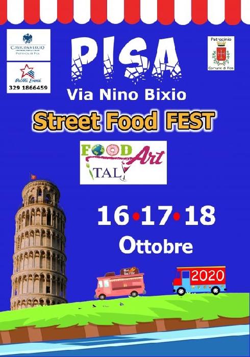 Dal 16 al 18 Ottobre - Pisa - Street Food Fest