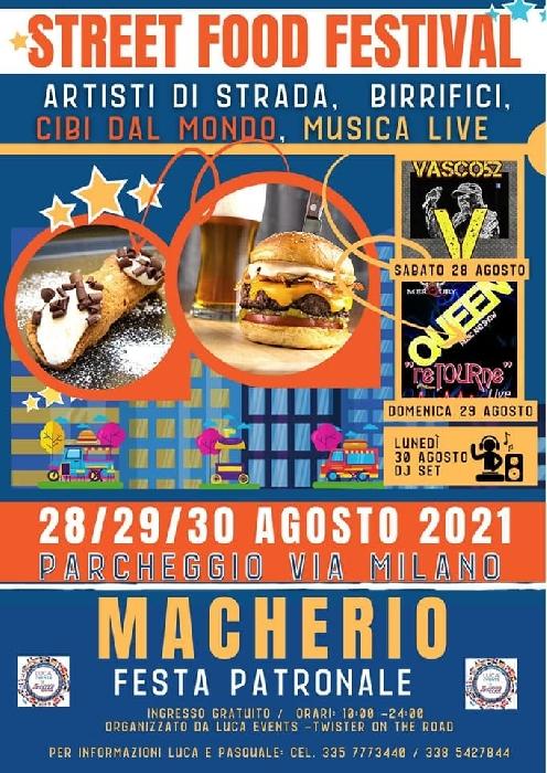 Dal 28 al 30 Agosto - Macherio (MB) - Street Food Festival
