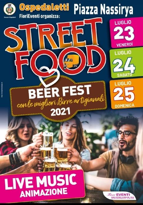 Dal 23 al 25 Luglio - Piazza Nassirya - Ospedaletti (SV) - Street Food e Beer Fest