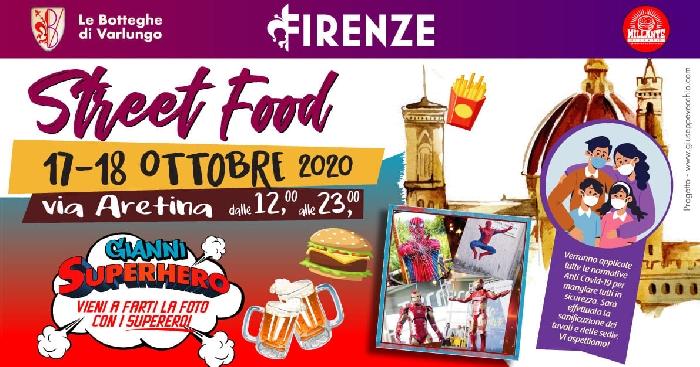 17 e 18 Ottobre - Via aretina - Firenze - Street Food